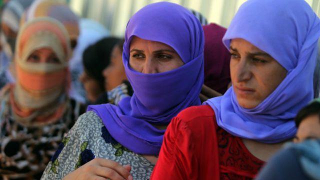 Mujeres yazidíes