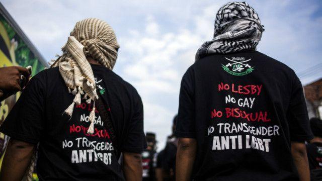 anti LGBT Indonesia