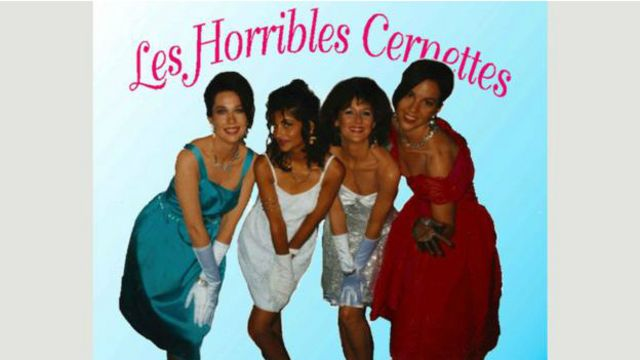 Les Horribles Cernettes terminarían pasando a la historia... pero no por sus cualidades musicales.