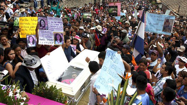 Funeral de Berta Cáceres