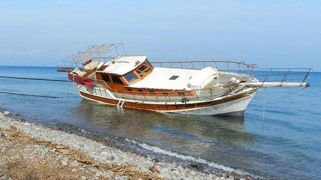 Barco refugiados