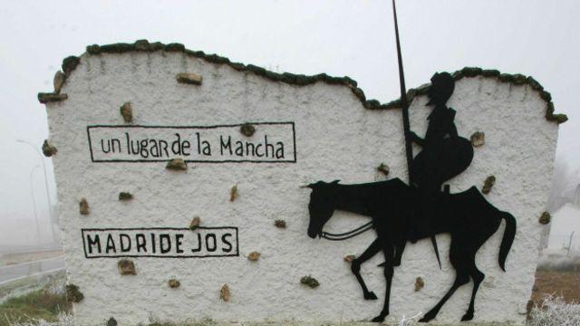 Silueta de Quijote