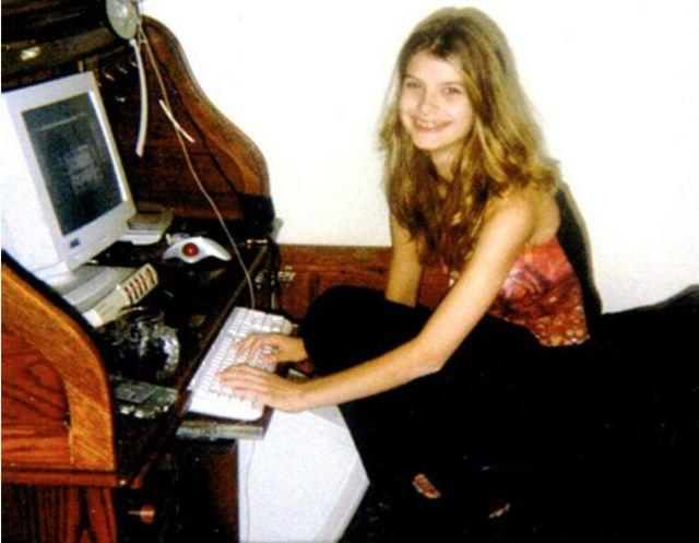 En aquellos años no se educaba a los niños sobre los peligros de internet.