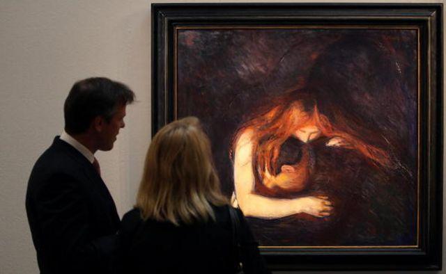 正是在德國的那段時間,蒙克創作了至今享譽世界的重要作品,包括《吸血鬼》和《麥當娜》(圖片來源:Getty )