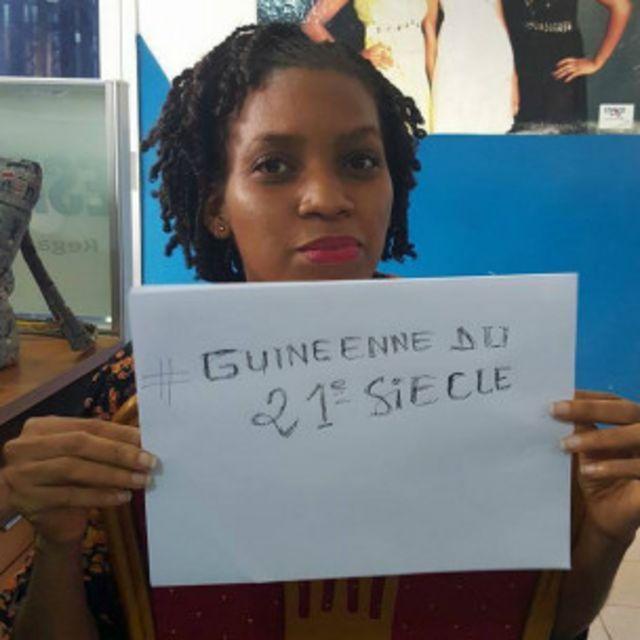 Biby Diallo est sensible aux violences faites aux femmes à travers le monde