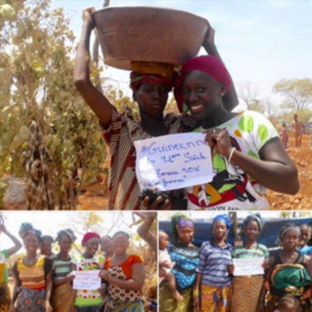 Image partagée sur le compte Facebook du blog, envoyée de Siguiri, en Haute-Guinée
