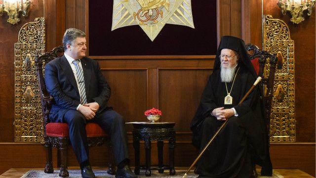 Раніше про необхідність української автокефалії з Вселенським Патріархом говорив Петро Порошенко
