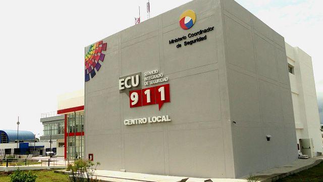 Centro de Seguridad ECU 911 en Ecuador