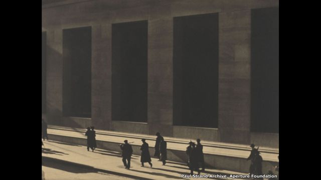 Wall Street, New York - Paul Strand Archive, Aperture Foundation