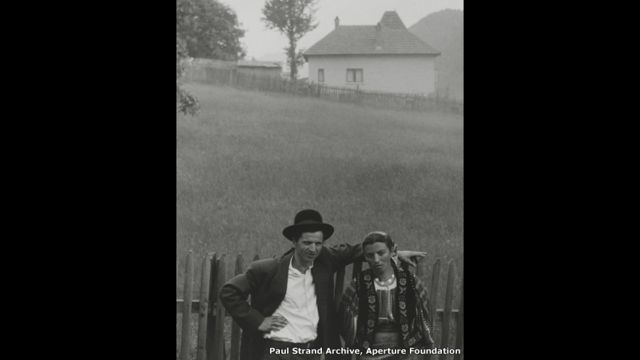 Couple Rucar, Romania, 1967 - Paul Strand Archive, Aperture Foundation