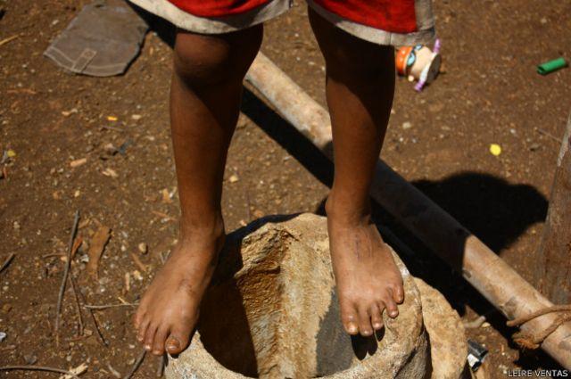 La pobreza es la principal razón de la deserción escolar, pero las condiciones de los centros de enseñanza también juegan su papel.