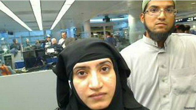 Rizwan Farook (sağda) ve eşi Tashfeen Malik, 2 Aralık'ta 14 kişiyi öldürdü.