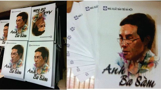 Sách Anh Ba Sàm đang được bán trên trang Amazon