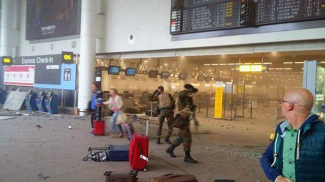 恐怖攻擊發生後,比利時當局加強安全戒備。