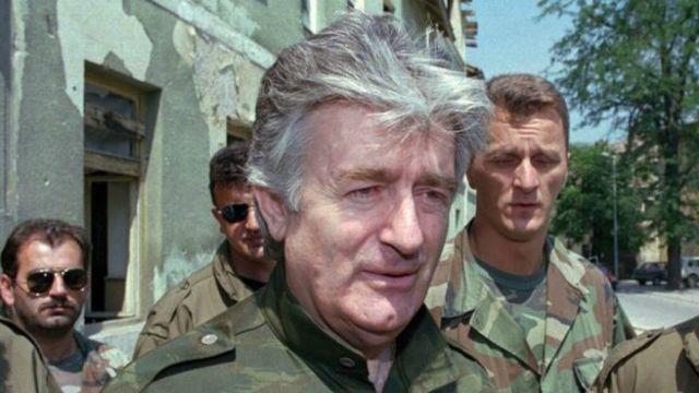 Radovan Karadzic, 1995-ci ilin avqustu