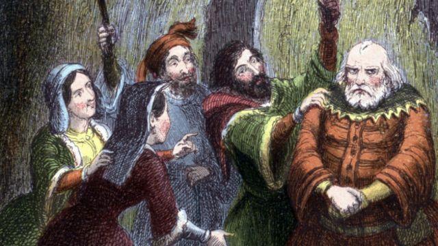 Falstaff en las Alegres Comadres de Windsor