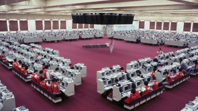 1986年的香港聯合交易所
