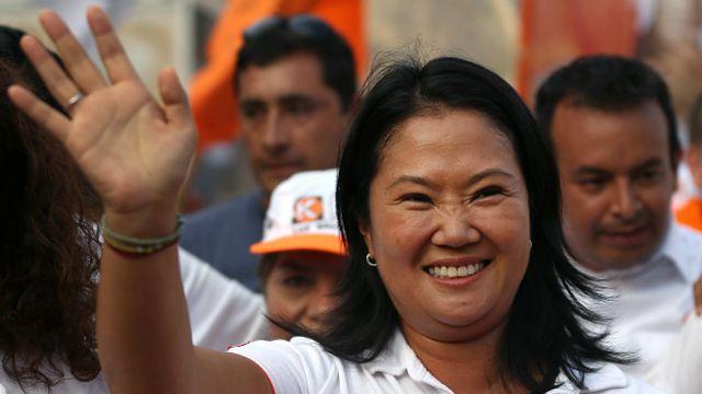 Keiko Fujimori, candidata de Fuerza Popular