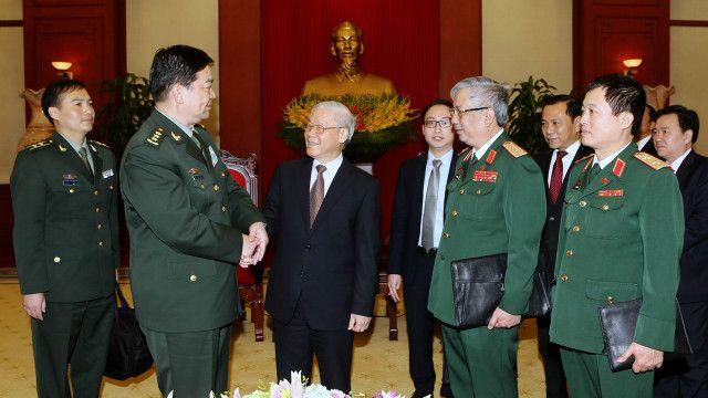 TBT Nguyễn Phú Trọng nắm chức Bí thư Quân ủy Trung ương với quyền lực bao trùm quân đội