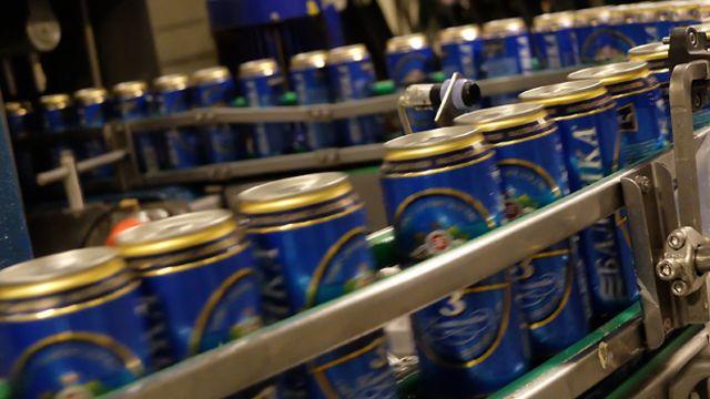 Линия по разливу пива