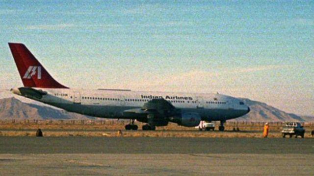 Cамолет Indian Airlines, угнанный в декабре 1999 года