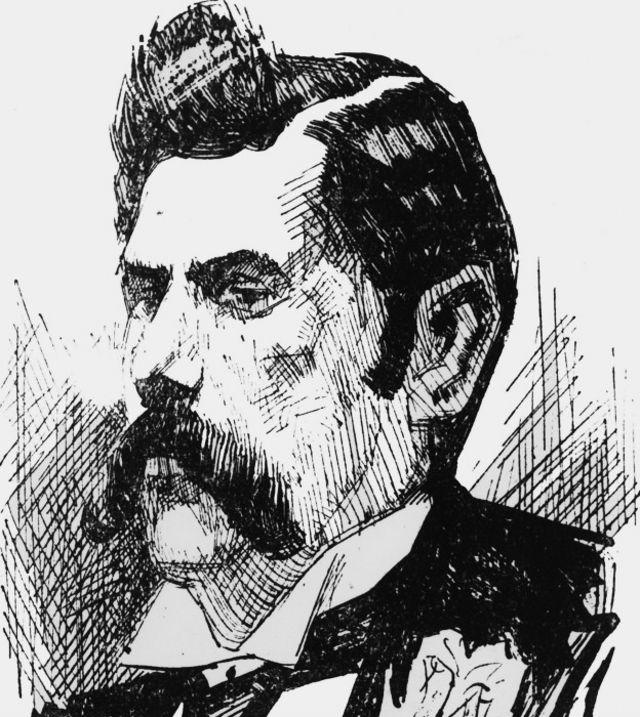 Jack el Destripador, o al menos así se lo imaginó el artista desconocido que hizo este retrato circa 1890.