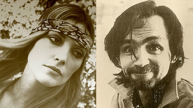 Manson y su más famosa víctima, la actriz y modelo Sharon Tate, esposa del director de cine Roman Polanski.
