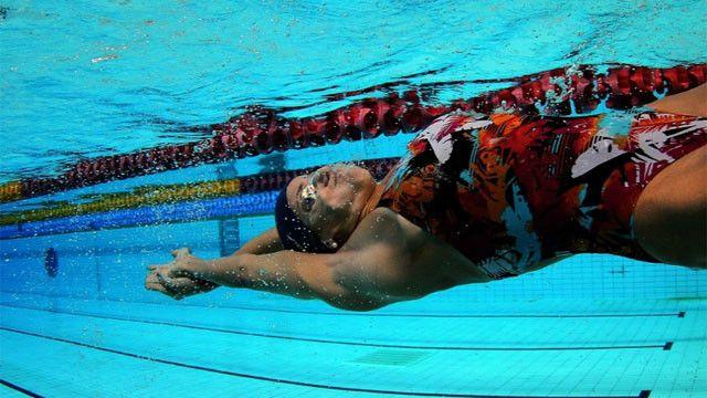 Joanna Maranhão foi a quinta nadadora mais rápida do mundo nos 400m medley em Atenas, na Olimpíada de 2004