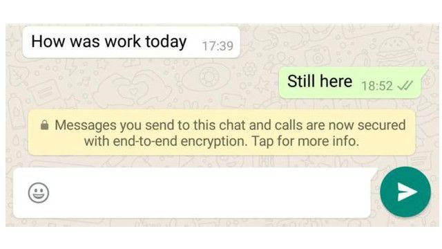 واتس آب أبلغت مستخدمي أحدث نسخة من تطبيقها بهذا التغيير يوم الثلاثاء