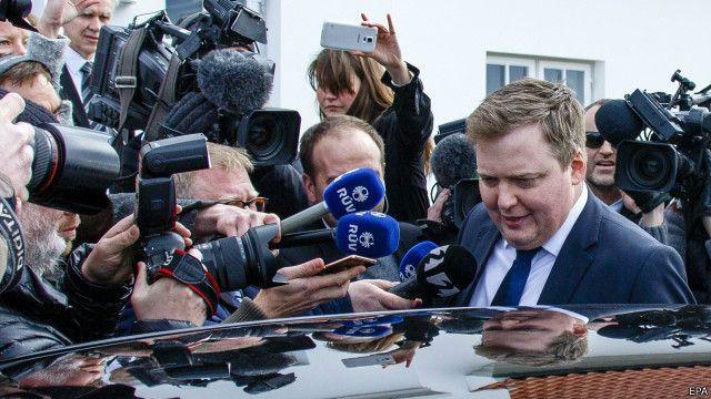 Primeiro-ministro da Islândia renunciou ao cargo após revelação de que mantinha conta não declarada em paraíso fiscal