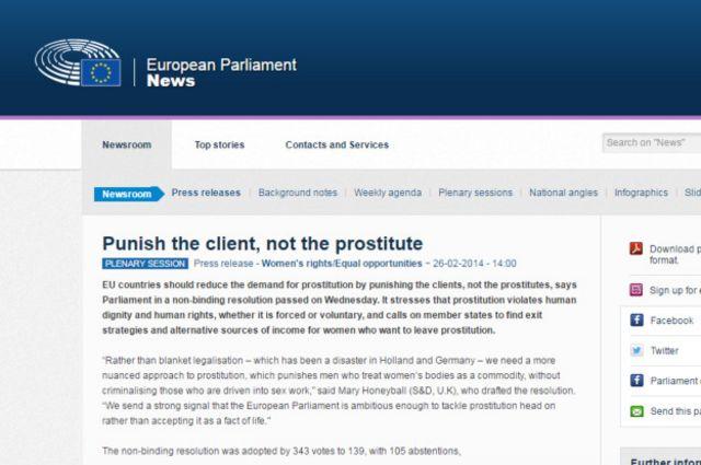 Резолюция Европейского парламента