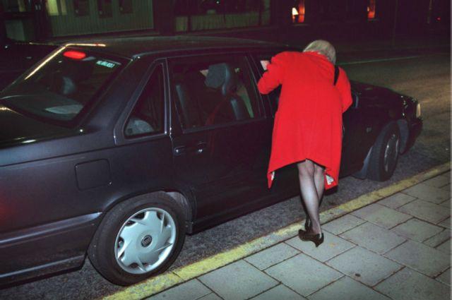 Проститутка в Стокгольме в октябре 1999
