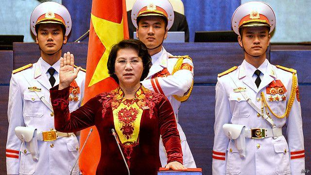 Bà Nguyễn Thị Kim Ngân