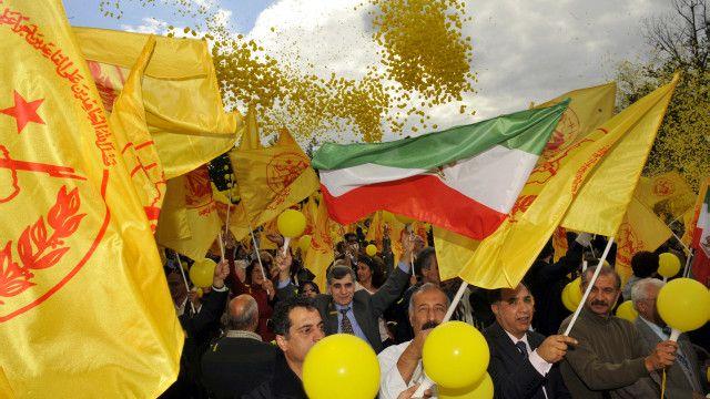 سازمان مجاهدین خلق علیه حکومت ایران فعالیت میکند