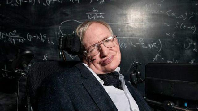Профессор Хокинг
