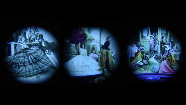 18-ci əsrə aid stereoskop görüntülər. Brian May.