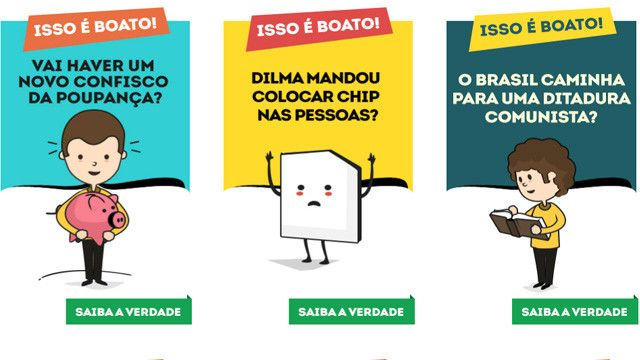 Planalto criou site em 2015 para rebater informações falsas que circulam na internet