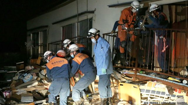jepang, kumamoto, evakuasi, gempa