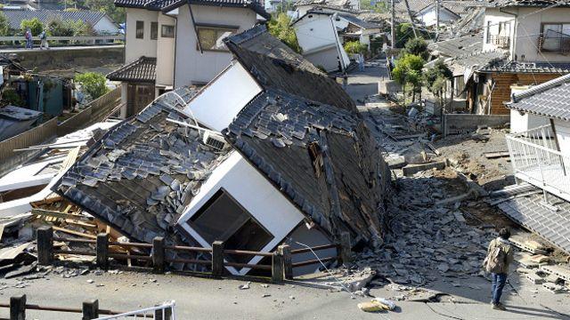 gempa, kumamoto, jepang, rumah