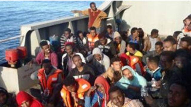 'Yan gudun hijira na yawan bi ta Libya domin shiga Turai
