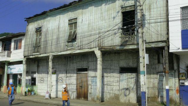 Casa antigua de entre 80 y 100 años de antigüedad