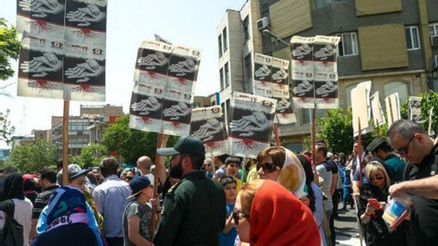 مراسم یکصد و یکمین سالگرد کشتار ارامنه در تهران