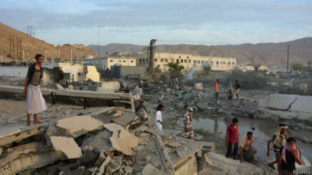 Rapora göre, devlet tarafından patlayıcı madde kullanılarak düzenlenen ve sivillerin öldüğü saldırılarda ilk sırada Yemen'deki hava operasyonları bulunuyor.