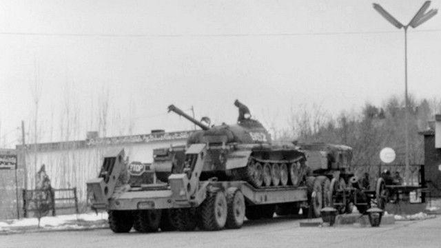 القوات السوفيتية في أفغانستان عام 1980