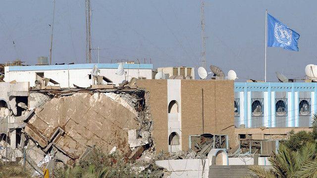 تفجير مقر الأمم المتحدة الذي أسفر عن مقتل الموفد الأممي دي ميلو و20 من الموظفين
