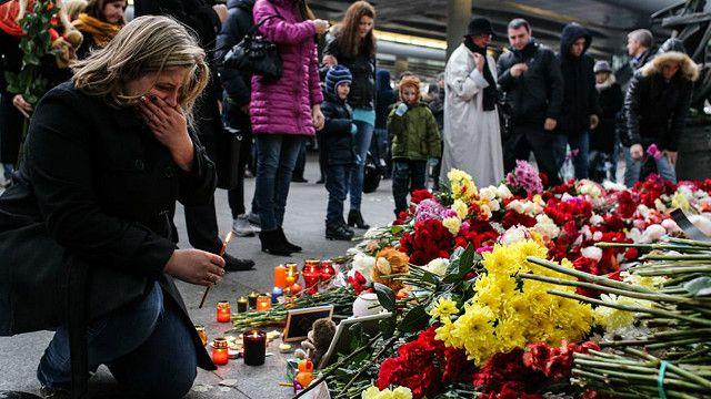 أقارب ضحايا الطائرة الروسية التي أسقطت فوق سيناء وتبنى تنظيم الدولة مسؤولية استهدافها