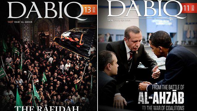 مجلة دابق، صادرة باللغة الانجليزية