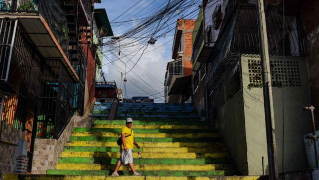 Barrio en Venezuela