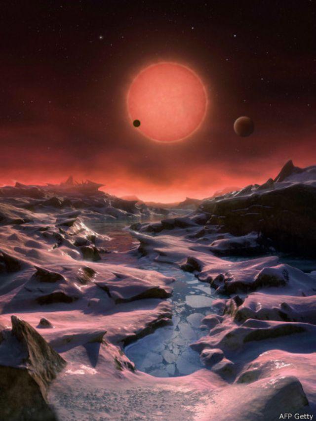 Están entre 20 y 100 veces más cerca de su estrella que la Tierra del Sol.