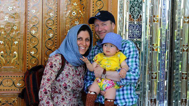 خانم زاغری قبلا هم به همراه همسر و فرزندش به ایران سفر کرده بود